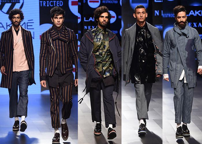 Sahil Aneja, Lakme Fashion Week, Lakme Fashion Week Winter Festive 2017, Fashion, Designers, Runway, LFW,