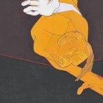 Tyeb Mehta, Untitled (Falling Figure), 1991