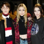Anwar Hadid, Bella Hadid, Designer, Exclusive, Fashion, Featured, Gigi Hadid, London Fashion Week, London Fashion Week Spring/Summer 2018, Online Exclusive, Tommy Hilfiger, Tommy X Gigi