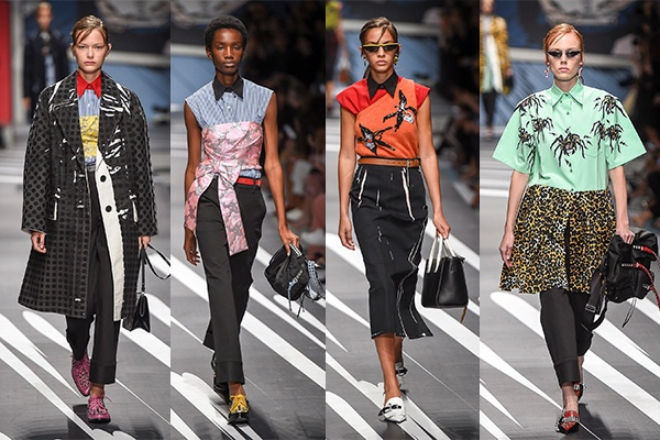 Milan Fashion Week, 2018, Spring, MFW, Fashion, Style, Ready To Wear, Prada