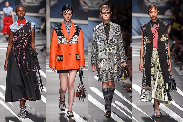 Milan Fashion Week, 2018, Spring, MFW, Fashion, Style, Ready To Wear, Prada