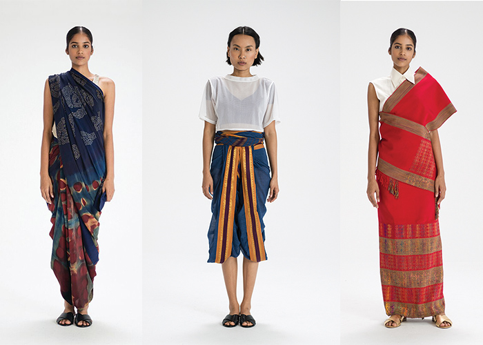 The Sari Series, Border & Fall