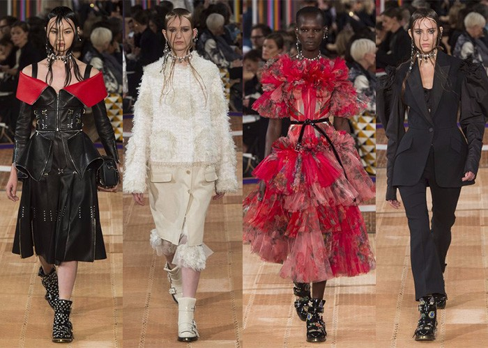 Alexander McQueen, Paris Fashion Week, Fashion, Designer,