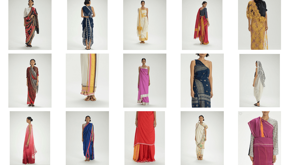 Border & Fall, Featured, Online Exclusive, sari draping, Sari Revival, Sari Warrior, The Sari Series