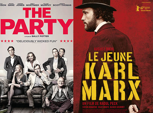 Featured, Films, Jio MAMI Film Festival, Le Jeune Karl Marx, MAMI 2017, Movies, Online Exclusive, Reviews, The Party