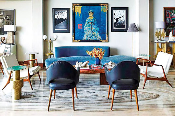 The Acropolis console finds place in a living room, Vikram Goyal, Interior Designer and Founder of Viya Home