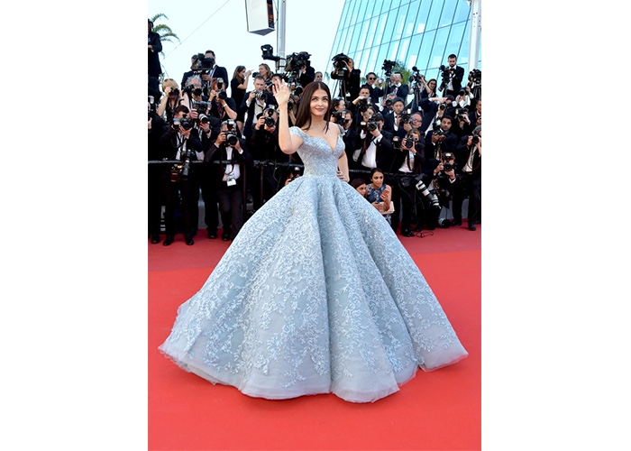 Fashion, Featured, Online Exclusive, Red Carpet, Style, Aishwarya Rai Bachchan in Michael Cinco Couture at the Cannes Film Festival