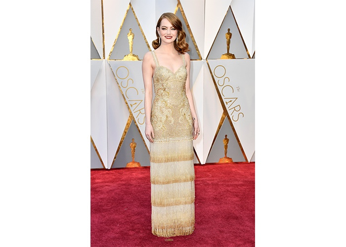 Fashion, Featured, Online Exclusive, Red Carpet, Style, Emma Stone in Givenchy Couture at the Academy Awards