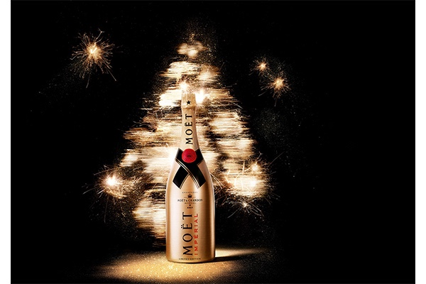 Moët & Chandon Impérial Golden Sparkle Limited Edition, Christmas, Fashion, Featured, Gift, Gifting, Guide, Ideas, Luxury, Online Exclusive, Presents, Style