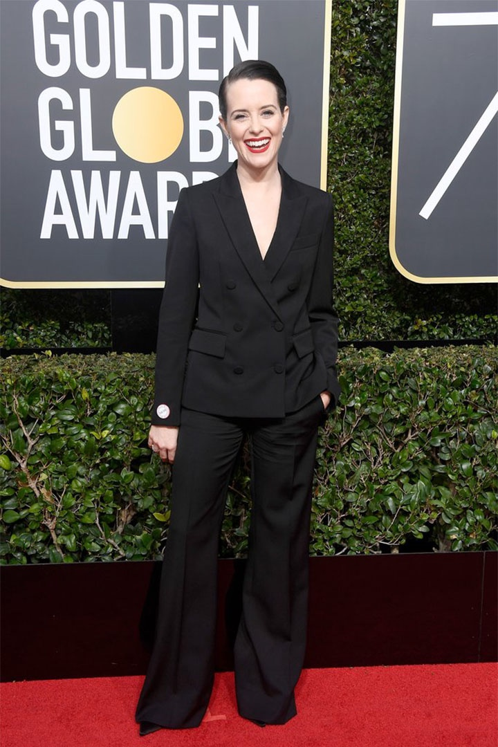 #MeToo, #WhyWeWearBlack, Activism, Award Ceremony, Black, Cinema, Designers, Fashion, Films, Gender Inequality, Golden Globe Awards 2018, Golden Globes, Movies, Red Carpet, Rundown, Sexual Harassment, Style, Television, Time's Up