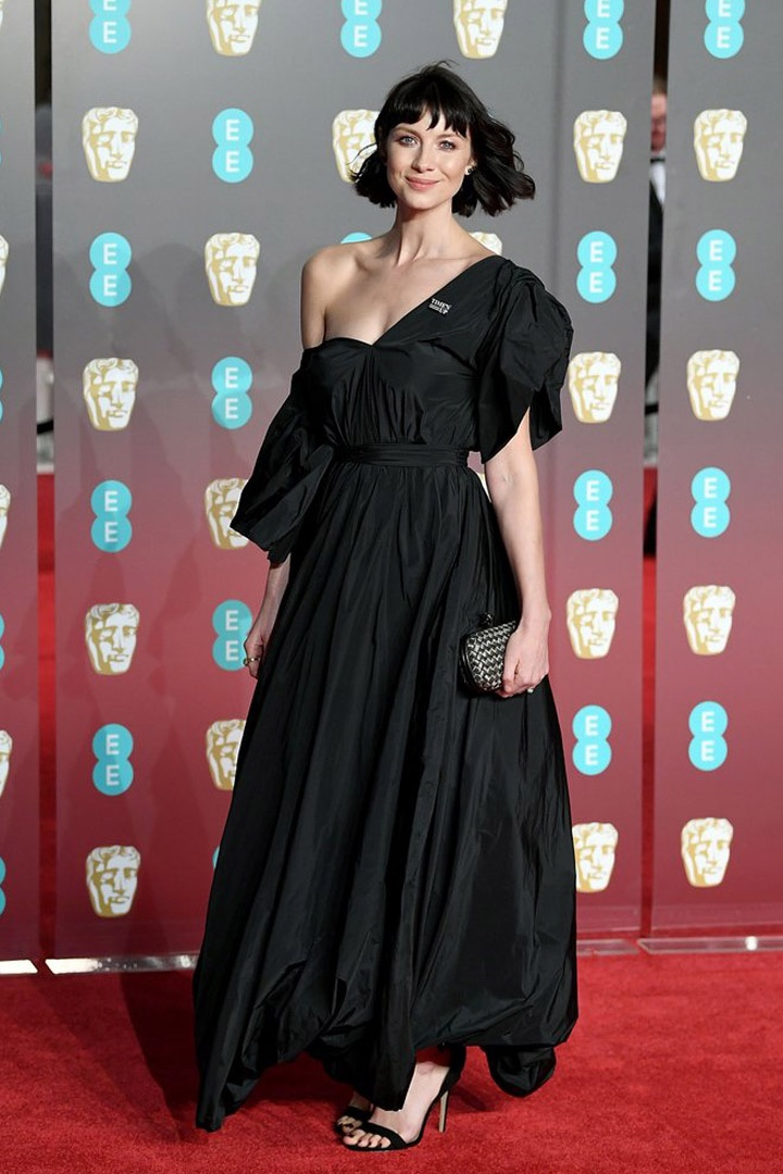 Caitriona Balfe, The Row, Awards Show, BAFTA, BAFTAs 2018, Black, British Academy Film Awards, Cinema, Entertainment, Fashion, Featured, Film, Hollywood, Movies, Online Exclusive, Style, Time's Up