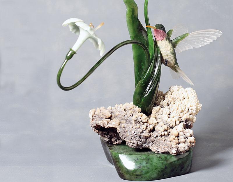 Asia Contemporary Art Show ,Hyun Kuk Cho, Voice of Spring, Canada, Room 4107.