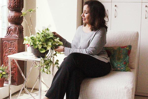Masooma Rizvi at her office Belita Design Solutions in Gurgaon