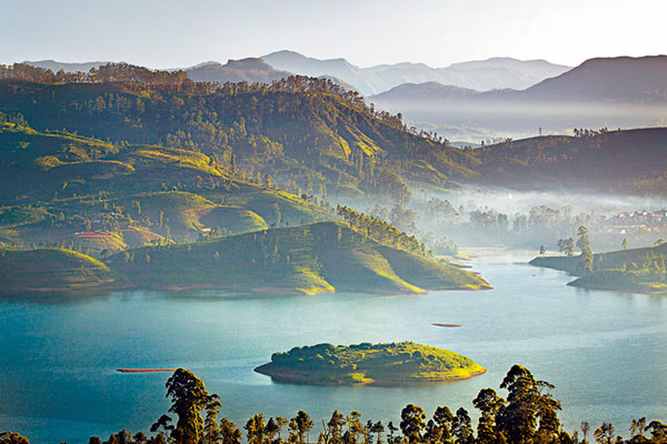 View from Dunkeld cottage, Ceylon Tea Trails, Sri Lanka