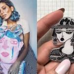 #SayHelloToMyBrain, Aditi Damle, Featured, Illustrator, People