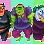 Art, Artist, DC Comics, Dead-phool auntyji, Featured, immigrants, immigration, Ishpider Bhen, Kully Rehal, London, Marvel characters, Online Exclusive, Superhero Aunties, superheroes, The Incredible Hulkwinder, women power, Women with Verve
