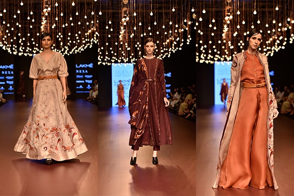 Fashion, Featured, Lakme Fashion Week, Lakmé Fashion Week 2018, Lakme Fashion Week Winter/Festive 2018, Online Exclusive, Style, Winter/Festive, Ankur & Priyanka Modi, AM:PM