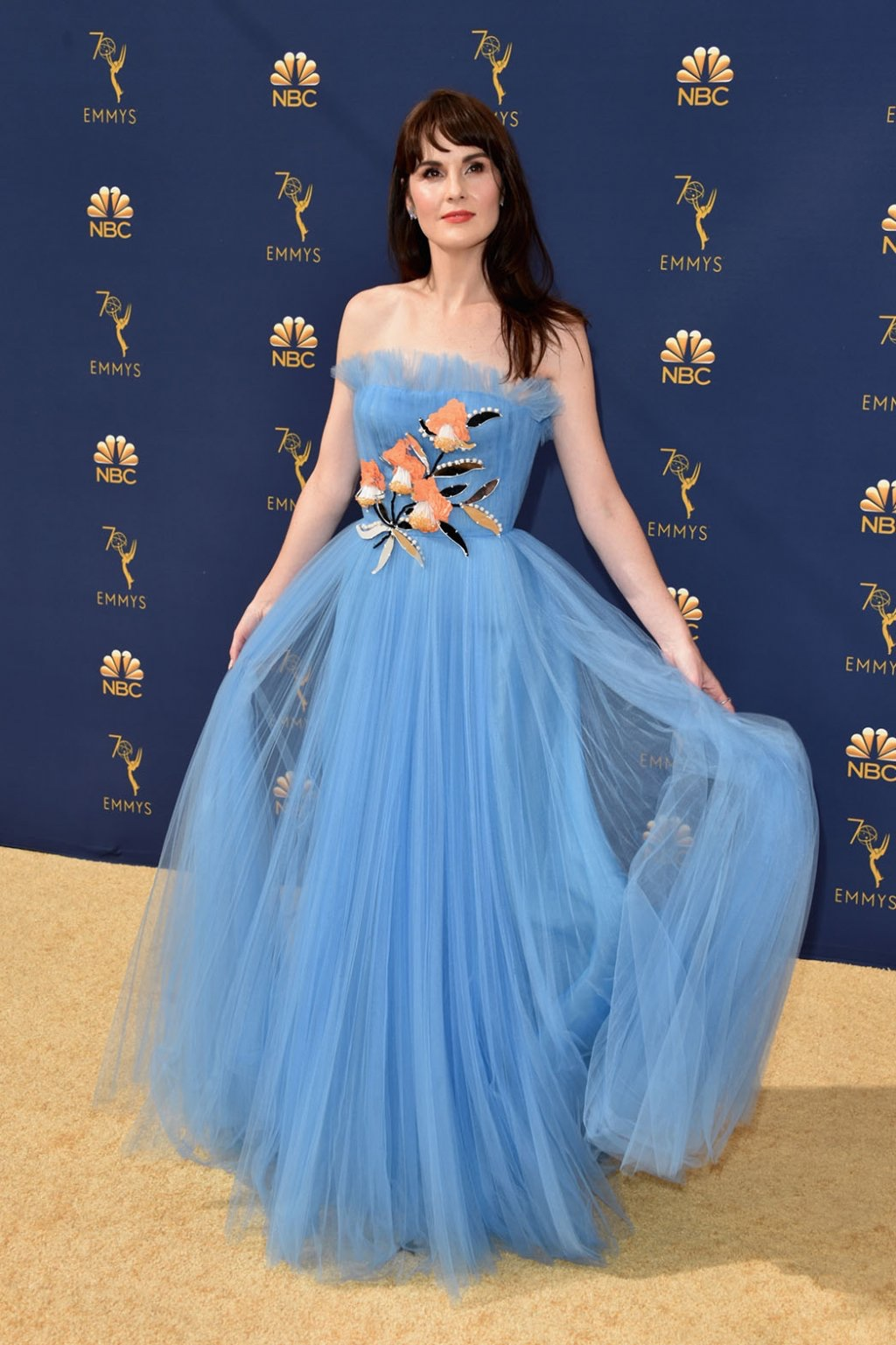 Michelle Dockery in Carolina Herrera, 70th Annual Primetime Emmy Awards, Betty White, Emmys 2018, Fashion, Featured, Glenn Weiss, Hannah Gadsby, highlights, Jav Svendsen, Online Exclusive, Style, The Marvellous Mrs. Maisel, top moments, We solved it, Diversity