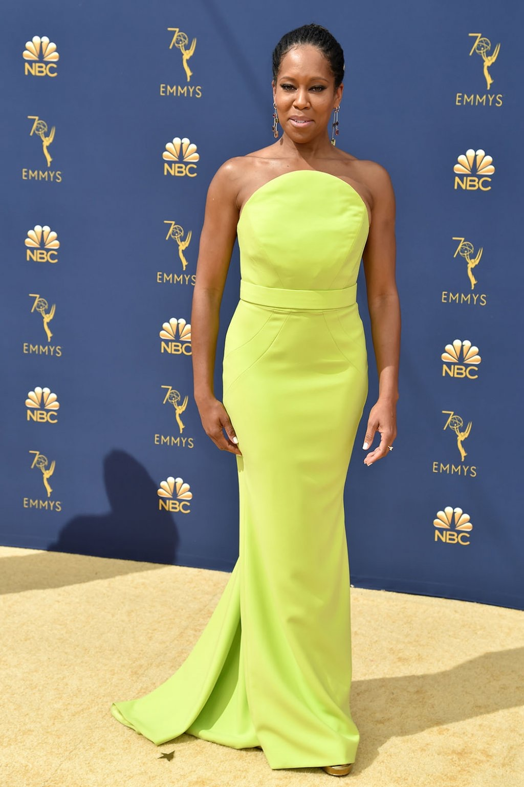 Regina King in Christian Siriano, 70th Annual Primetime Emmy Awards, Betty White, Emmys 2018, Fashion, Featured, Glenn Weiss, Hannah Gadsby, highlights, Jav Svendsen, Online Exclusive, Style, The Marvellous Mrs. Maisel, top moments, We solved it, Diversity