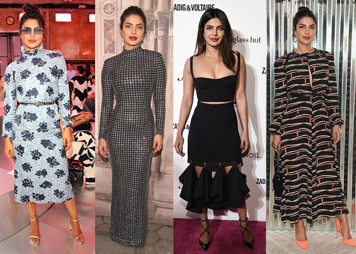 Priyanka Chopra S New York Fashion Week Style Diary Verve Magazine India 39 S Premier Luxury