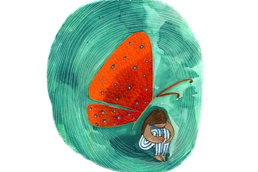 Art, Featured, Graphic Design, Graphic Designers, Illustration, Mental Disorder, Mental Health, Mental Health Awareness, Mounica Tata, Online Exclusive, Pranita Kocharekar, Prathiksha Bhat, Sonaksha Iyengar