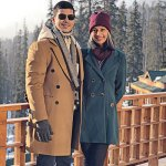 Sarah Shaikh Gonsalves and Sandeep Gonsalves, co-founders and designers of bespoke menswear brand SS HOMME