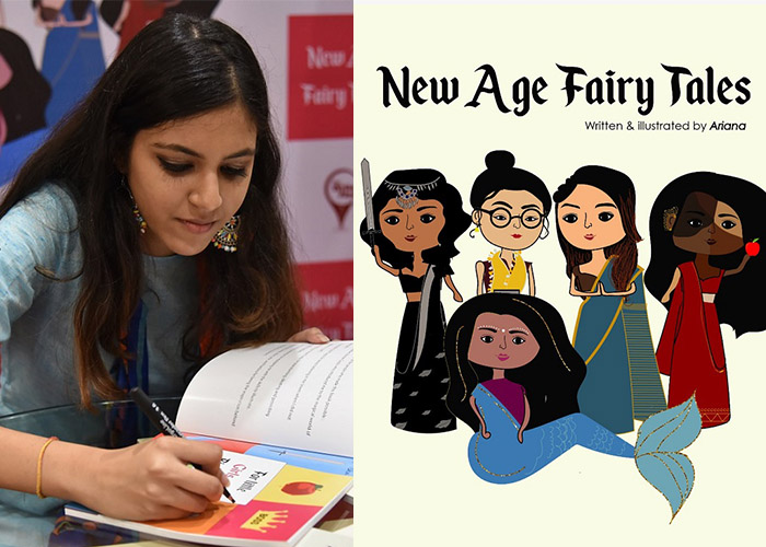 Ariana Gupta, Beauty and the Beast, Cinderella, Disney princesses, Featured, Feminism, feminism in India, feminist book, feminist fairy tales, Gender Equality, New Age Fairy Tales, Online Exclusive, Sleeping Beauty, Snow White, The Little Mermaid, young feminists in India