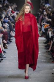 moda, fashion, rosso, sfilate, passerelle, max mara, pappino