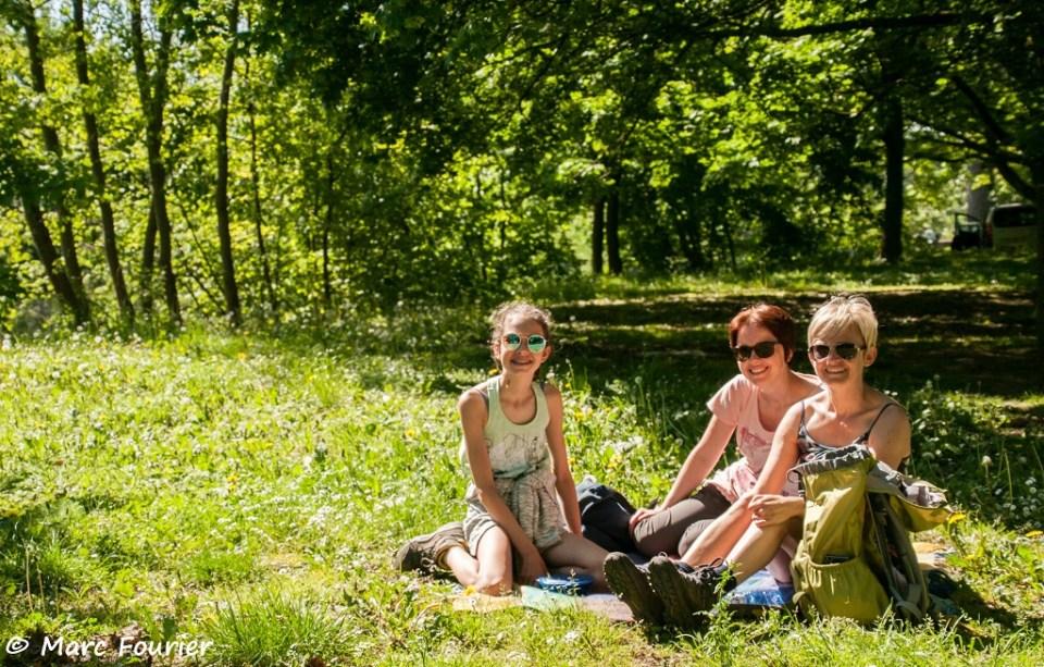 picknick in het gras