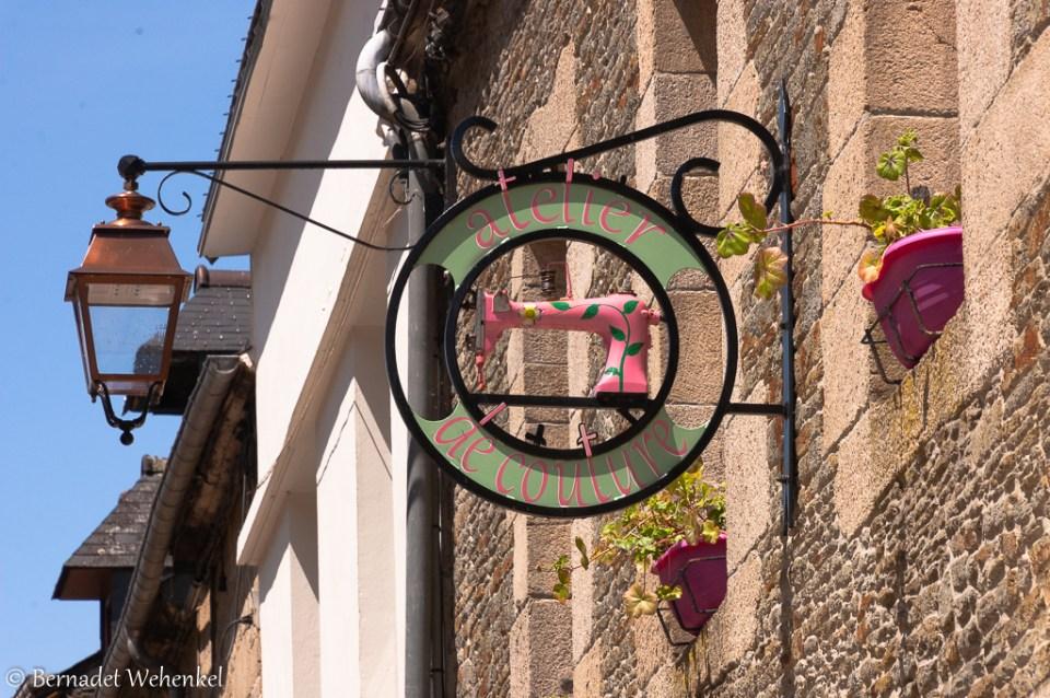 'atelier de couture' in Josselin