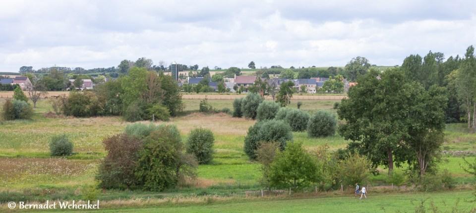 Landschap in Gelinden.