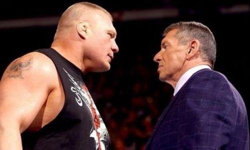 Brock Lesnar vs Vince Mc Mahon
