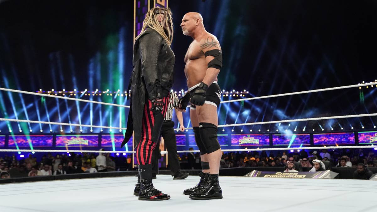 Bray Wyatt vs Goldberg