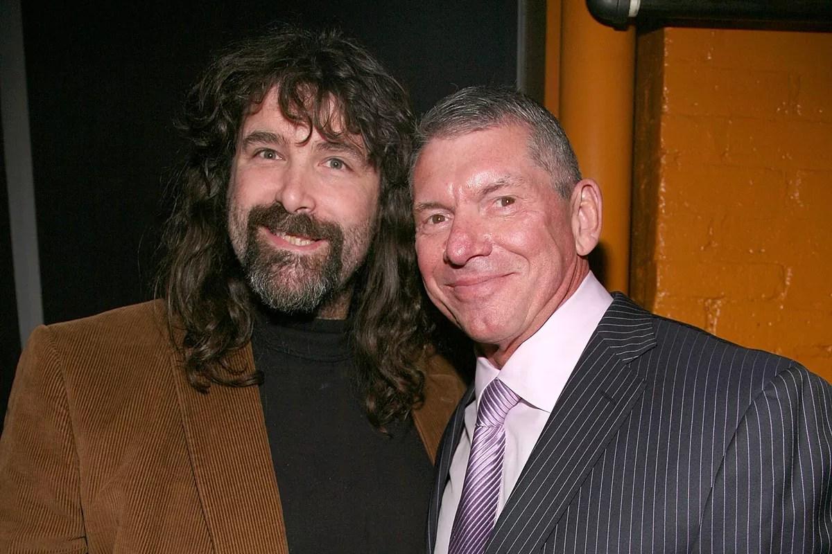 Mick Foley y VInce McMahoin