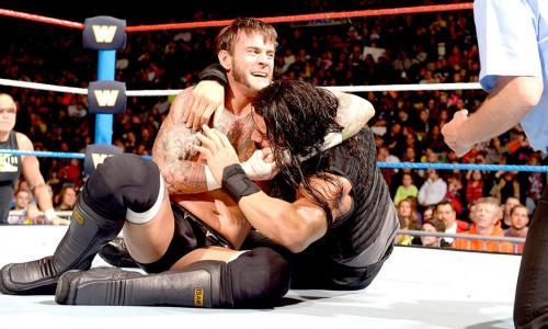 CM Punk vs Roman Reigns