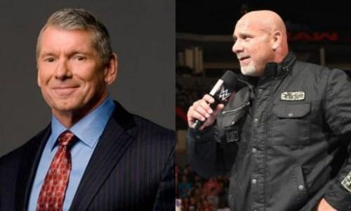 Vince McMahon y Goldberg