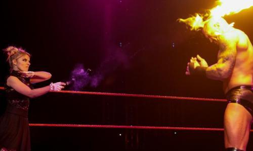 Alexa Bliss y Randy Orton