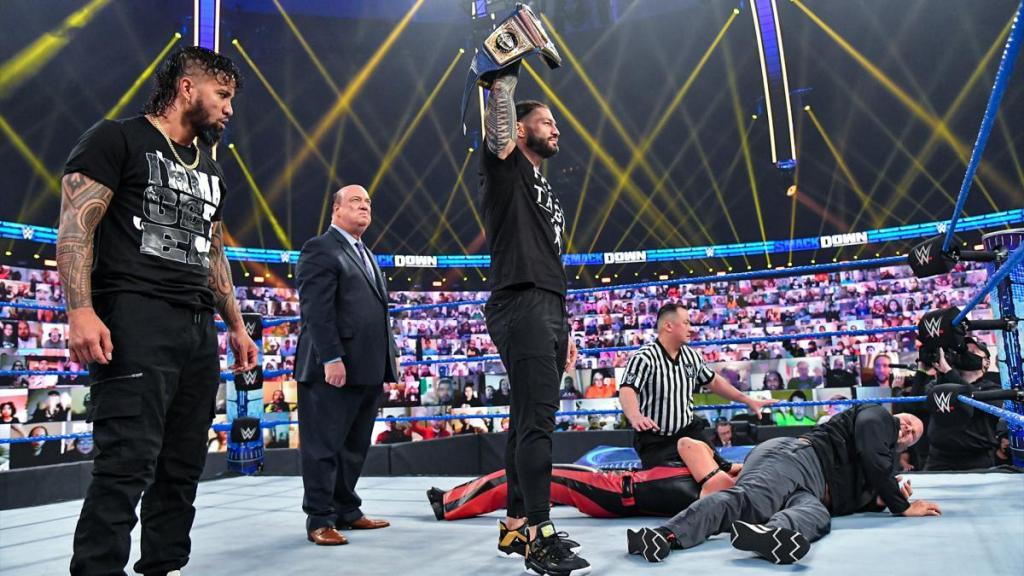 Roman Reigns vs Adam Pearce