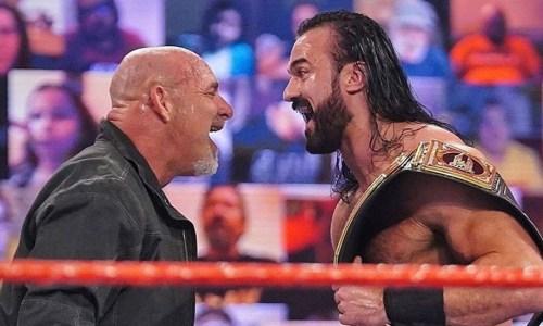 Goldberg vs Drew McIntyre