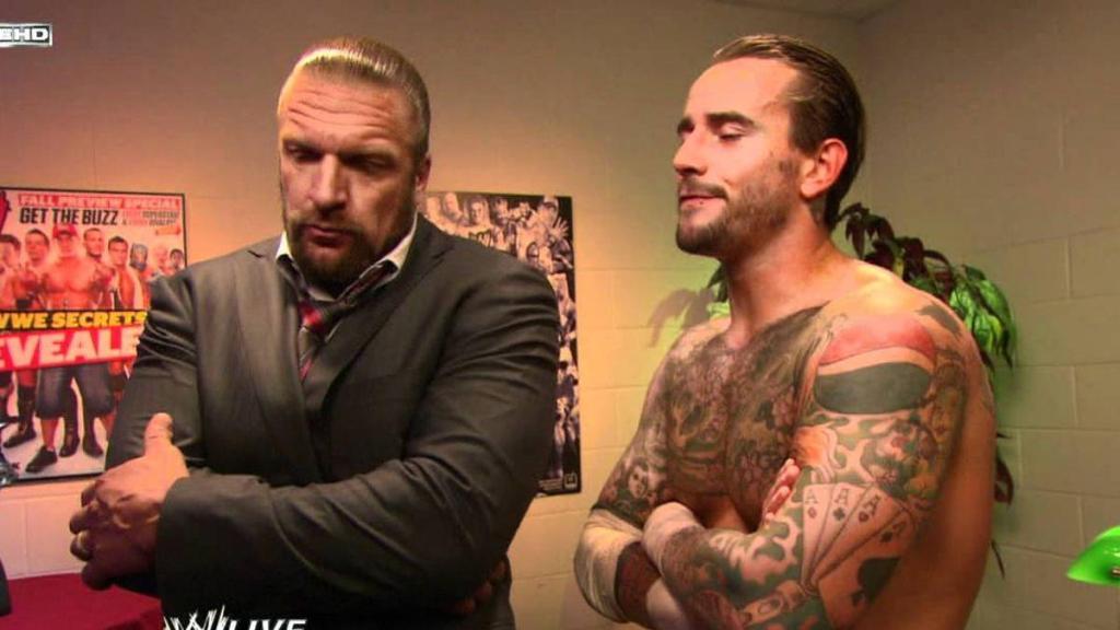 Triple H y CM Punk