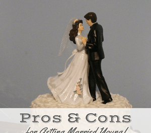 "<p style=""text-align: center;""><span style=""font-family: 'comic sans ms', sans-serif; color: #ff5e78;""><strong>The Ultimate List of Pros & Cons for Getting Married Young</strong></span></p>"