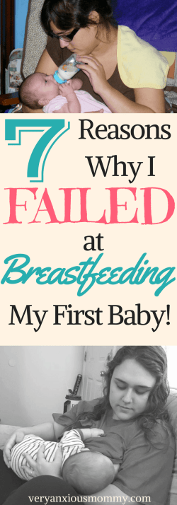 Here are 7 Reasons Why I Failed at Breastfeeding My First Baby and Succeeded with my Second Baby.