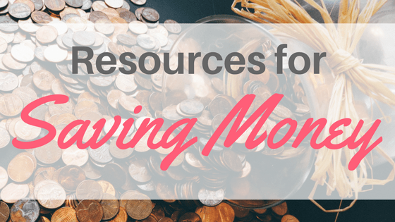 Resources for Saving Money