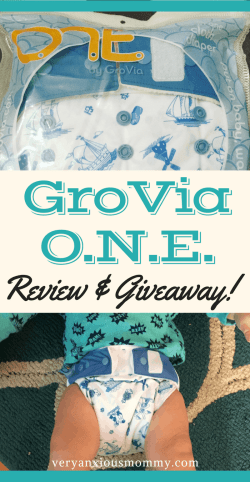 The GroVia O.N.E. Cloth diaper review. The One diaper you will ever need. GroVia ONE cloth diaper | All in One |