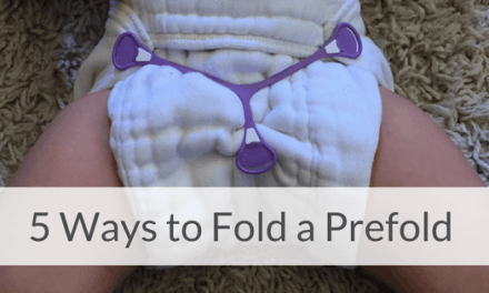 5 Quick and Easy Ways to Fold a Prefold Cloth Diaper