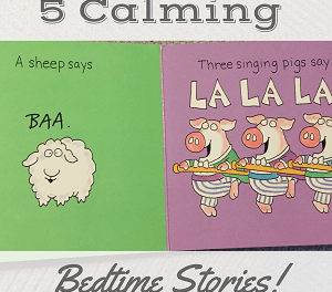5 AMAZING BOOKS THAT WILL CALM YOUR KIDS FOR BEDTIME
