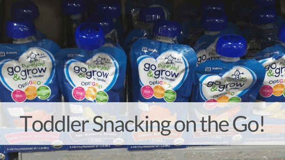 5 SIMPLE TRICKS FOR HEALTHY TODDLER SNACKS ON THE GO