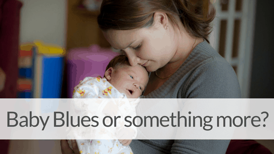 The Difference Between Postpartum Depression and Baby Blues