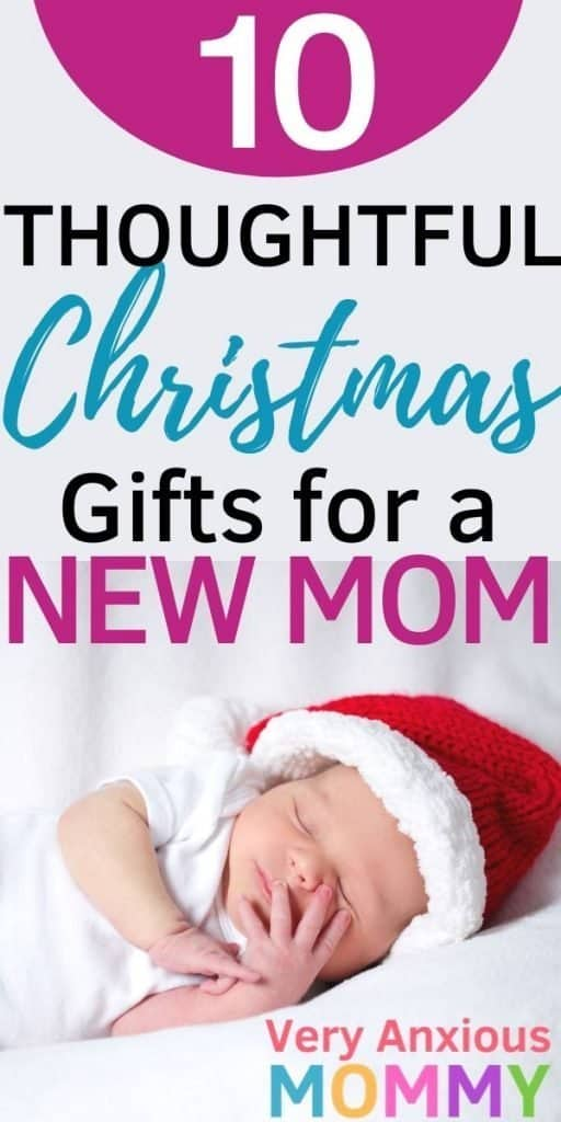 10 Thoughtful Christmas Gifts for an Incredible New Mom, New mom christmas gifts, gifts for new mom, gifts for first time moms, christmas gifts for moms