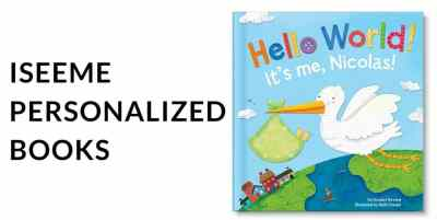 ISEEME personalized books for baby. veryanxiousmommy.com